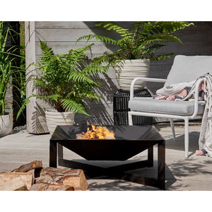 Modern Square Outdoor Firepit