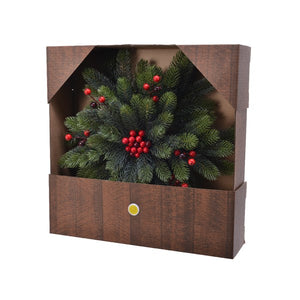 20'' Chippewa Star Berries Wreath