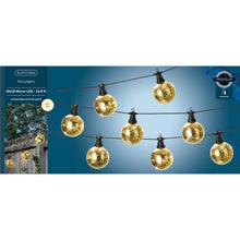 Load image into Gallery viewer, LED Golden Globe Lights, 14ft