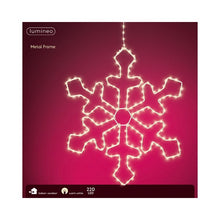 Load image into Gallery viewer, MicroLED Metal Snowflake