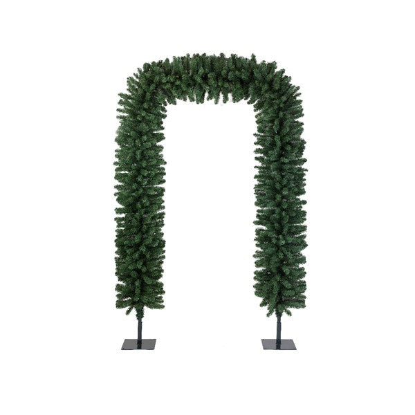 Decorative Holiday Greenery Arch