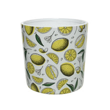 Load image into Gallery viewer, Terra Planter w/ Lemon Print