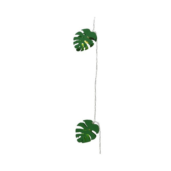 LED String Monstera Leaf Lights