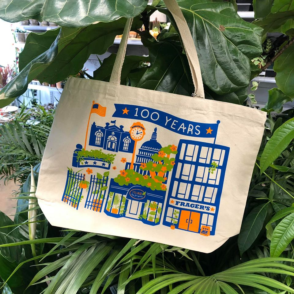 Frager's 100th Anniversary Tote Bag