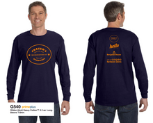 Load image into Gallery viewer, Frager's Logo Long Sleeve Shirt - Navy
