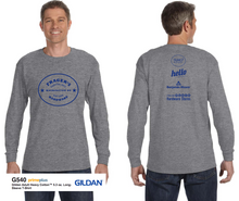 Load image into Gallery viewer, Frager's Logo Long Sleeve Shirt - Grey