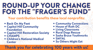 """Frager's Fund"" Donation"