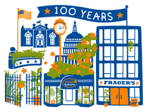 Load image into Gallery viewer, Frager's 100th Anniversary Tote Bag