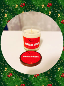 Holiday Vibes Soy Candle