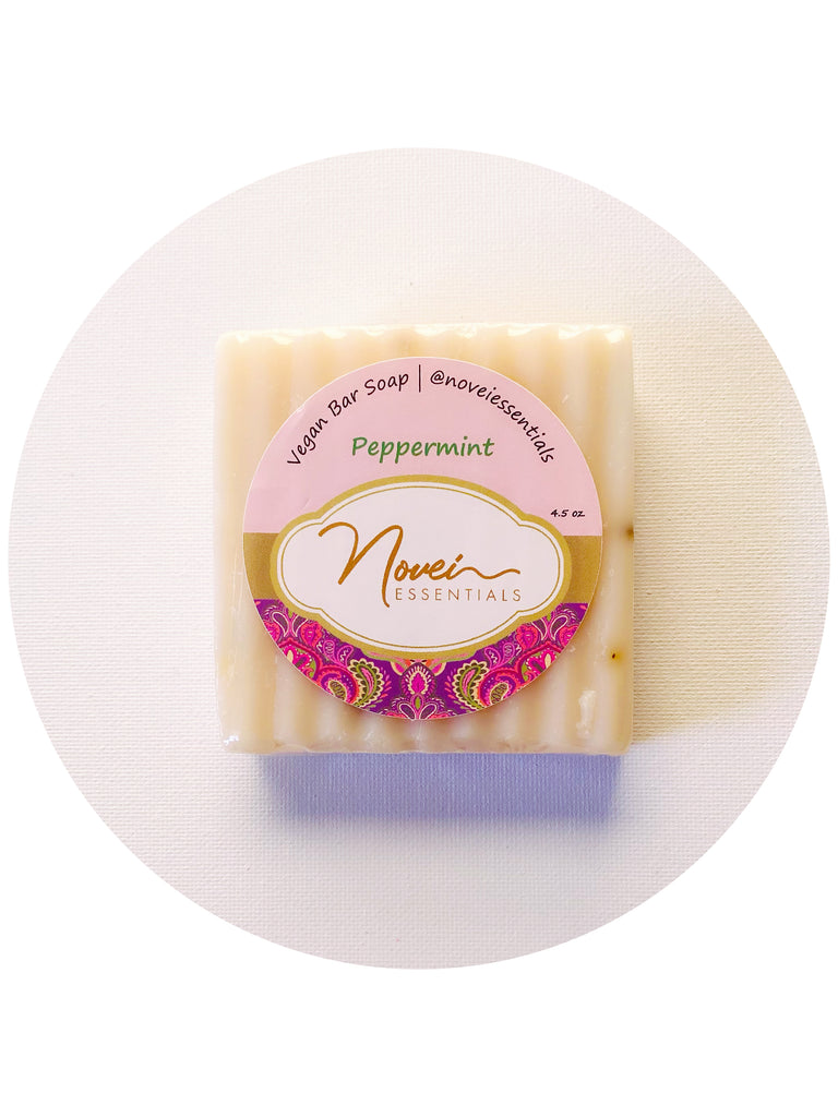 Refreshing Peppermint Bar Soap