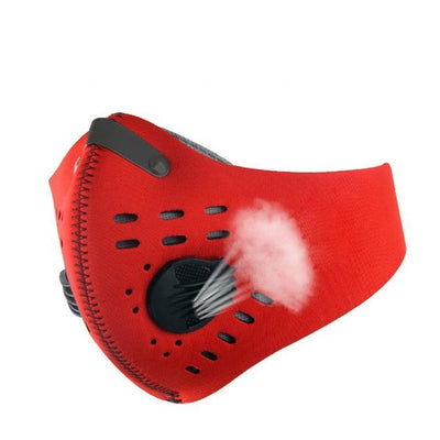 Reusable Protective Face Covering (LIMITED EDITION - ROSE RED)