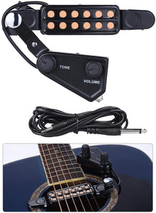 12 SoundHole Guitar Pickup Acoustic Electric Transducer