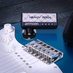 Electric Guitar Mini Headphone Amplifier With Classic Rock Distortion Effect