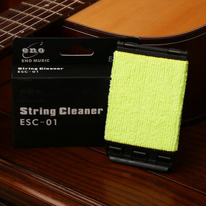 Guitar String Cleaner - Extends lifespan & Preserves Tone Of Guitar Strings.