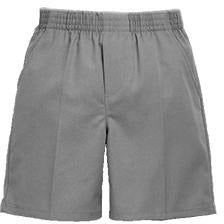 Pull On Shorts - Grey