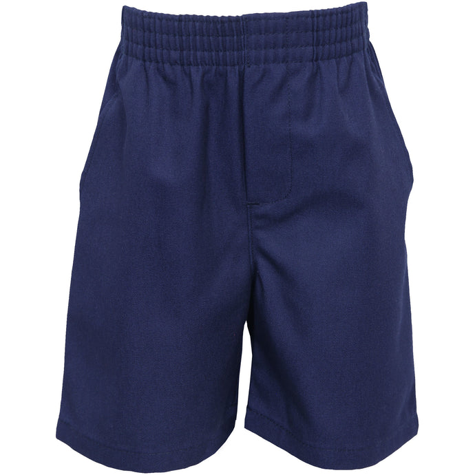 Pull On Shorts - Navy