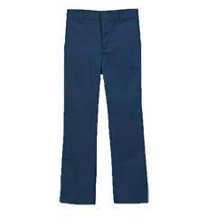 Boys Flat Front Pants - Navy