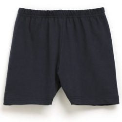 Girls Bike Shorts - Navy