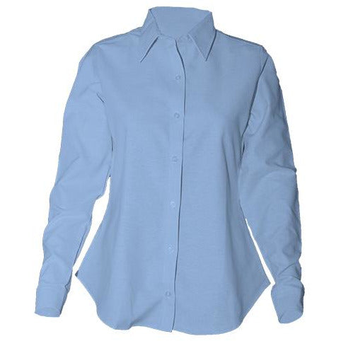 Girls Long Sleeve Oxford Shirt (Grades 5-8)
