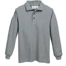 Load image into Gallery viewer, Long Sleeve Knit Polo w/SCLS logo