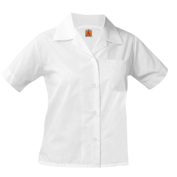 Girls Pointed Collar Blouse - SCLS (Grades TK-4)