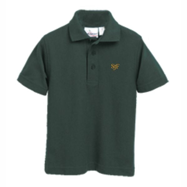 Knit Polo w/SJF logo