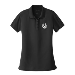 Girls Fitted Dri Fit Polo w/POLA logo