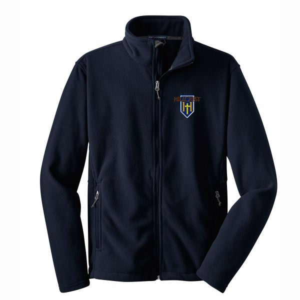 Full Zip Polar Fleece w/Hillcrest logo