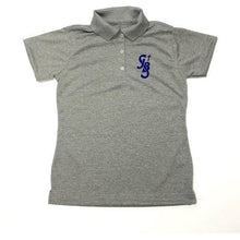 Load image into Gallery viewer, Girls Fitted Dri Fit Polo w/ St. John the Baptist logo