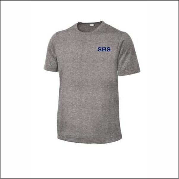 Dri-fit PE Shirt w/ Sacred Heart logo