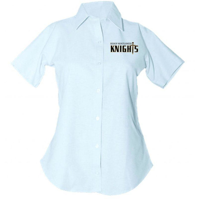 Women's Fitted Oxford Shirt w/BMHS logo
