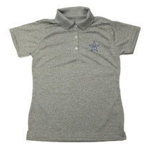 Load image into Gallery viewer, Girls Fitted Dri Fit Polo w/Mary Star Elementary logo