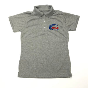 Girls Fitted Dri Fit Polo w/ Riviera Hall logo