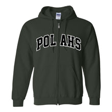 Load image into Gallery viewer, POLA Tackle Twill Zip Hooded Sweatshirt