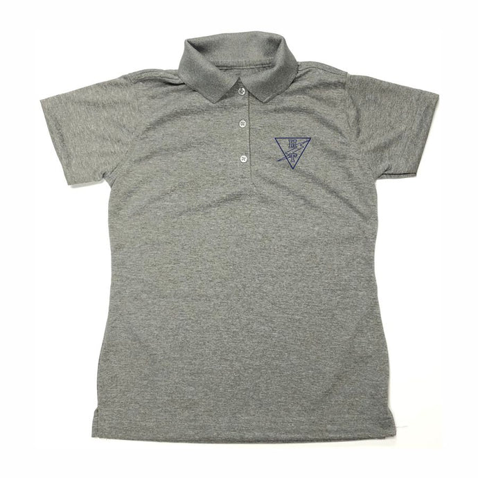 Girls Fitted Dri-fit Polo w/ Holy Trinity logo