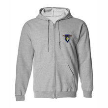Load image into Gallery viewer, Zip Hood Sweatshirt w/Hillcrest logo