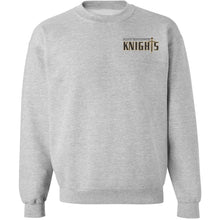Load image into Gallery viewer, Crewneck Sweatshirt w/ Bishop embroidered small logo