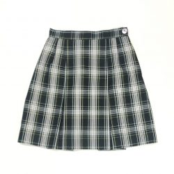 2 Pleat Skirt - Kings Plaid (Grades 6-8)