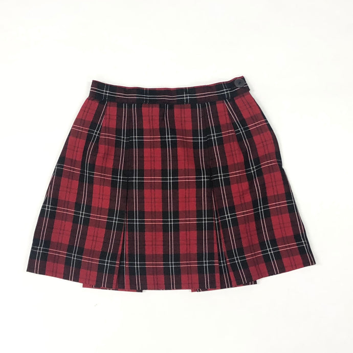 2 Pleat Skirt - HIS Plaid