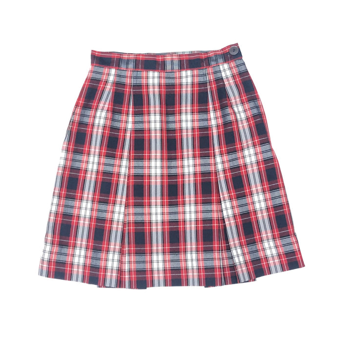 2 Pleat Skirt - Holy Trinity Plaid