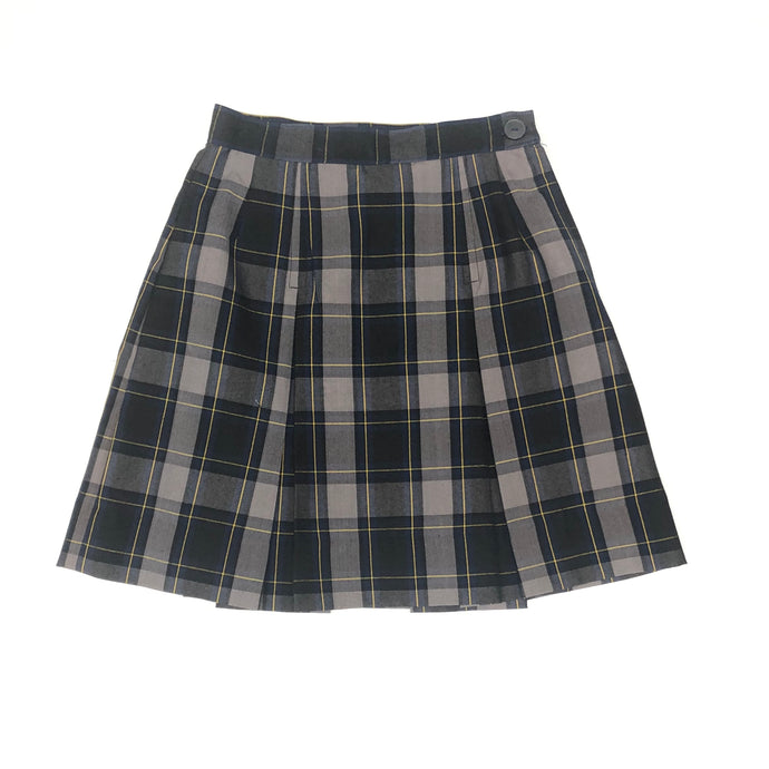 2 Pleat Skirt - Hillcrest Plaid (Grades 4-12)