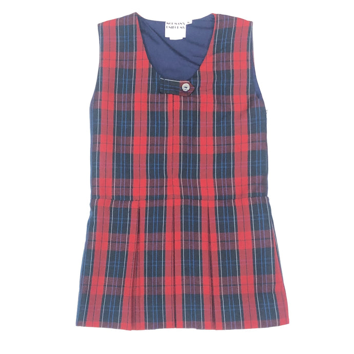 Girl's Jumper - Riviera Hall Plaid