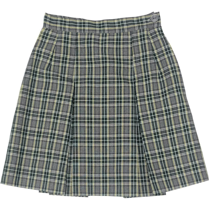 2 Pleat Skirt - Hilary Plaid (Grades 5-8)