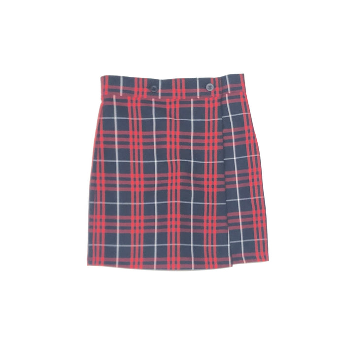Wrap Skort – SLM Plaid
