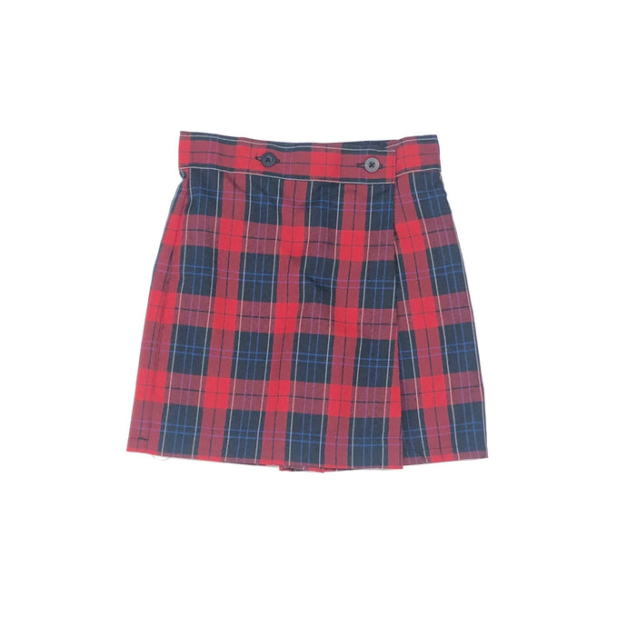 Wrap Skort – Riviera Hall Plaid