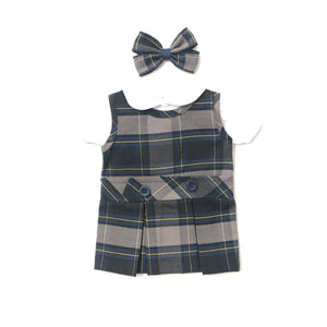 Doll Dress - Calvary Plaid