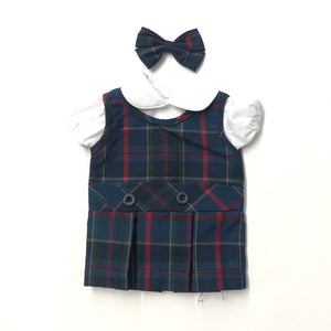 Doll Dress - SPPS Plaid