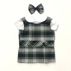 Doll Dress - South Bay JA Plaid