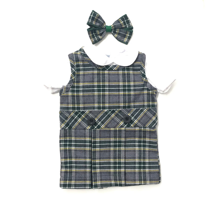 Doll Dress - St. John Fisher Plaid