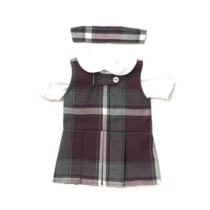 Doll Dress - Valley Christian Plaid